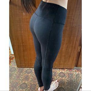 Victoria's Secret Black Knockout Tights Leggings